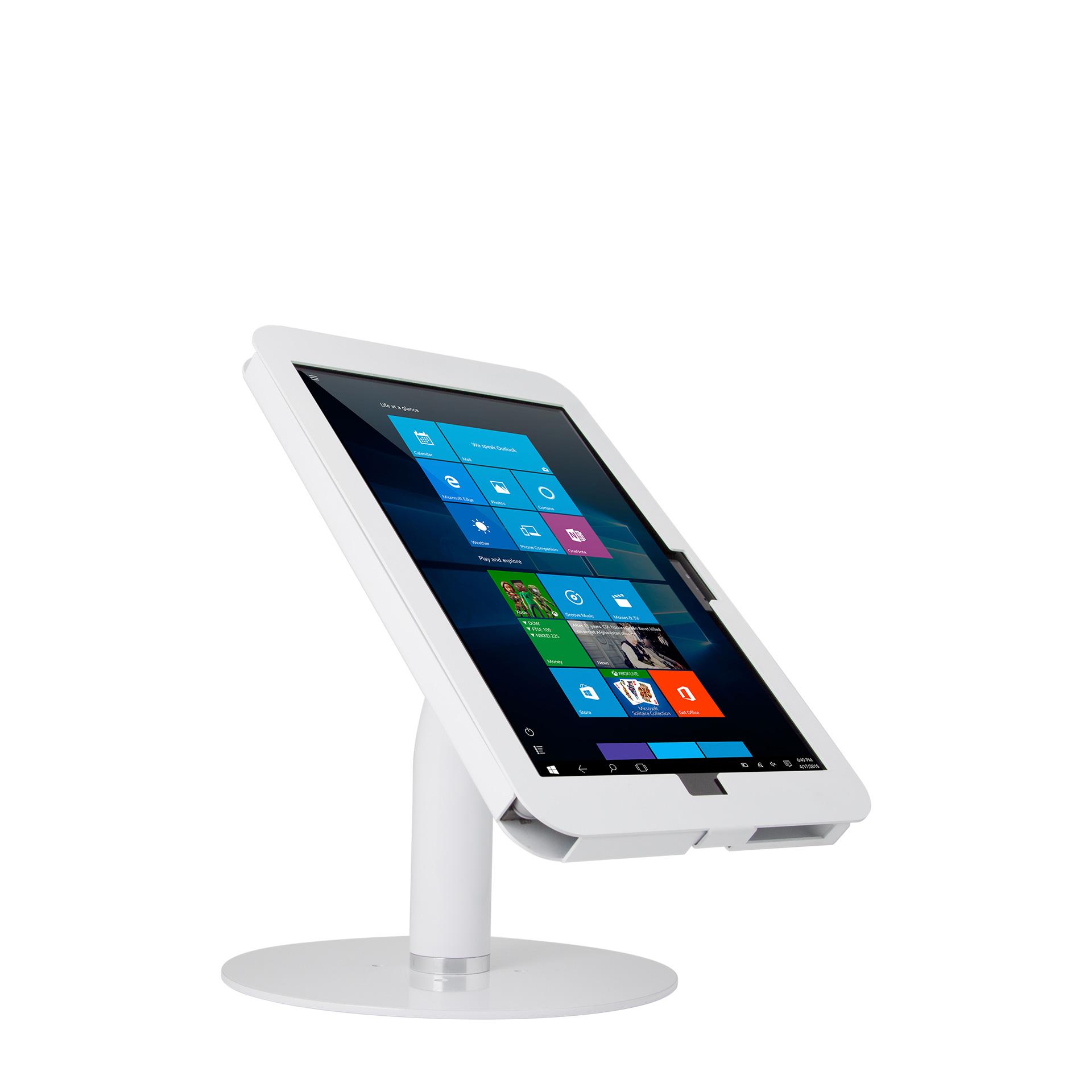 【販売終了】Elevate™II カウンタートップ・キオスク(Surface Pro 6   5   4   3)ホワイト